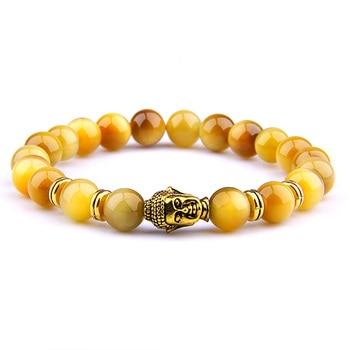 Bracelet Tete de Bouddha
