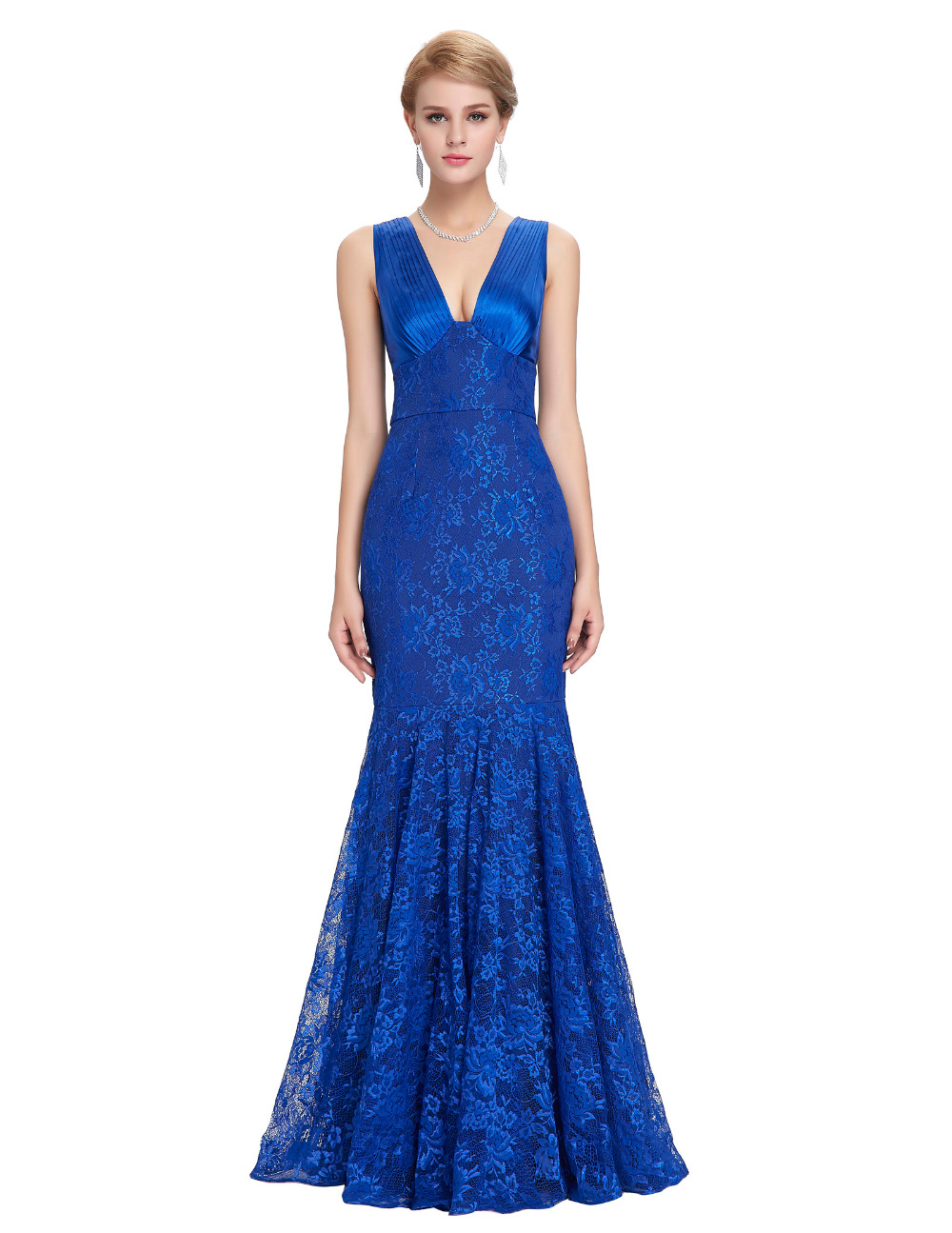 Prom dress new arrival 2016 mermaid pageant dress emerald green - Aliexpress Com Buy New Arrival Women Formal Sexy Long Mermaid Evening Dresses 2017 Gece Elbisesi Lace Royal Blue Black Emerald Green Evening Gowns From