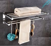 Free punch. towel rack bathroom shelving rack toilet towel rack stainless steel storage bathroom wall rack
