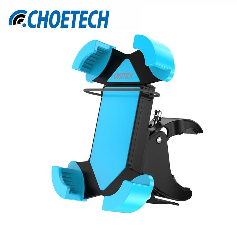 """imágenes para CHOETECH Universal 3.5 """"-6"""" Bike Mount Teléfono 360 Grados de Rotación Ajustable Montaje de La Bicicleta Titular Para el iphone Smartphone"""