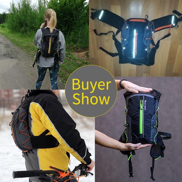 West biking bolsa com reservatório de água, bolsa para bicicleta, à prova d 'água, esportes ao ar livre, ciclismo, mochila de hidratação 6
