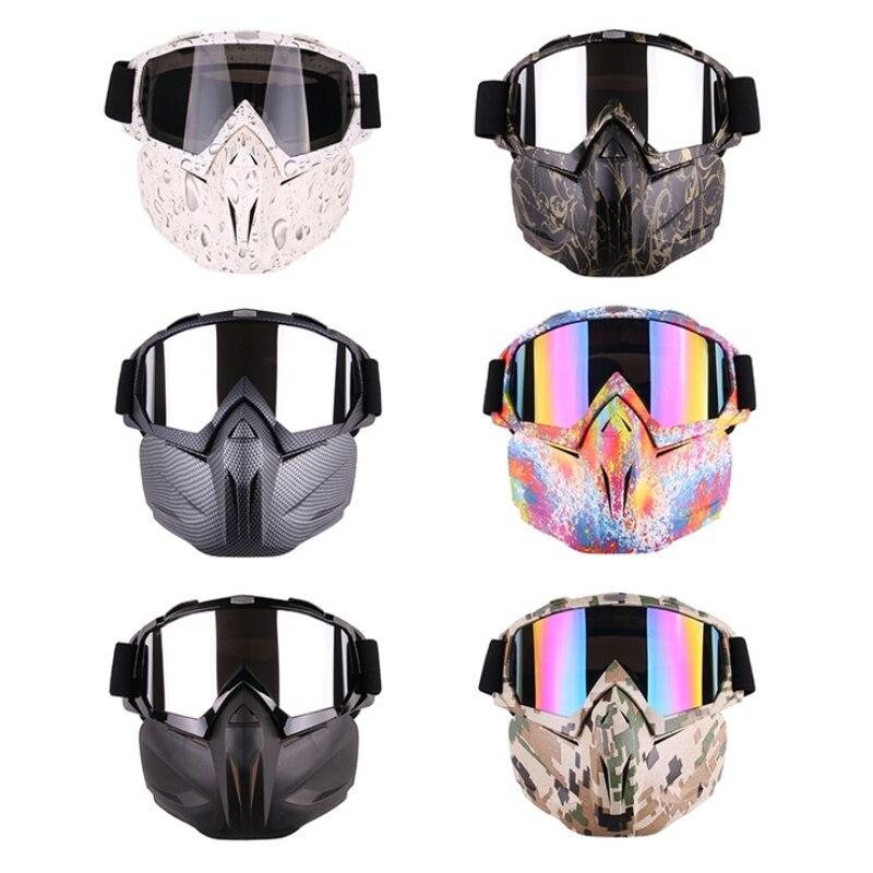 Männer Frauen Ski Snowboard Schneemobil Brille Maske Schnee Winter Skifahren Ski Gläser Motocross Sonnenbrille
