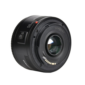 Image 4 - 재고! YONGNUO YN50mm f1.8 YN EF 50mm f/1.8 AF 렌즈 YN50 캐논 EOS DSLR 카메라 용 조리개 자동 초점