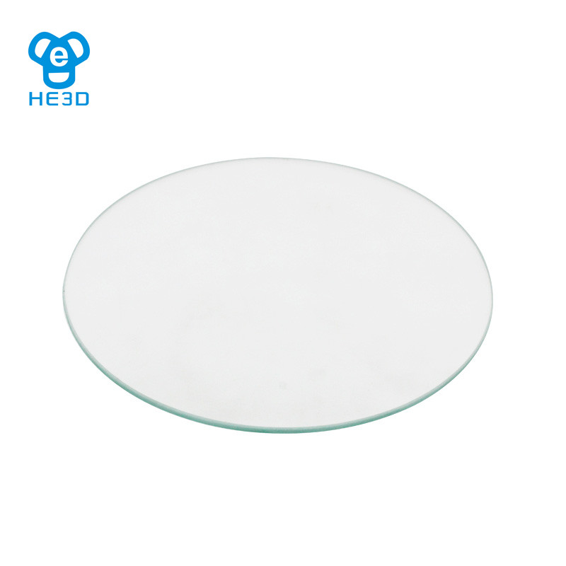 HE3D 180 Borosilicate Glass plate diameter 180mm thick 3mm for 3D printer accessory Rostock delta KOSSEL