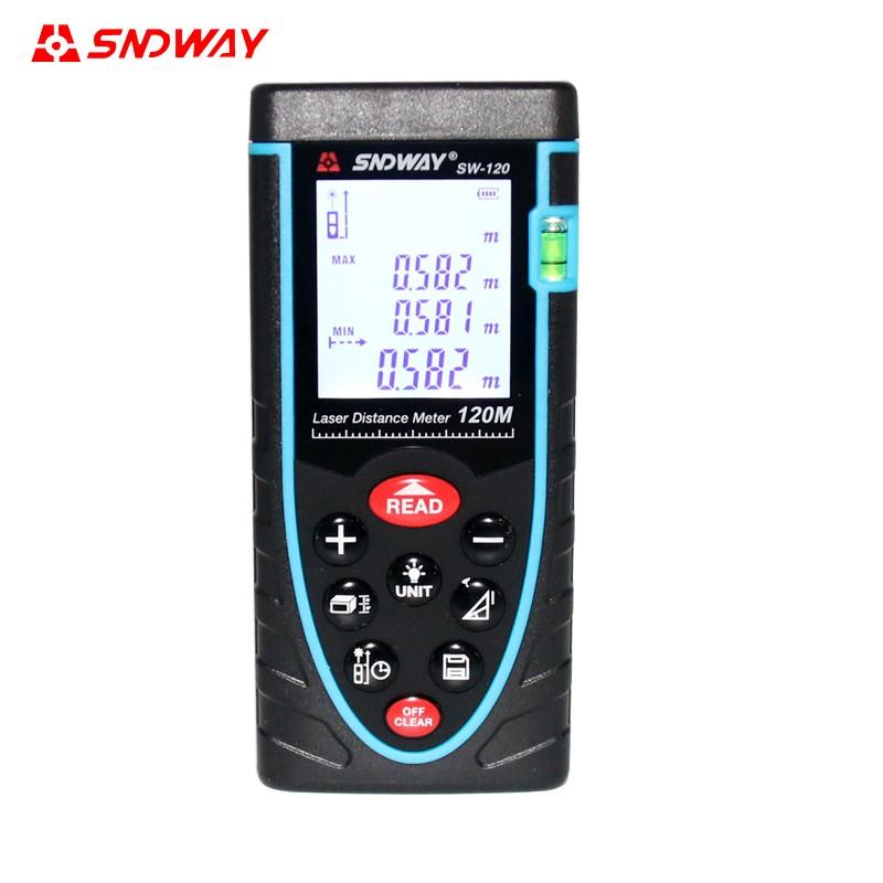 Купить SW-80 Цифровой Лазерный Дальномер Метр лазерный дальномер тестер Площадь/Объем М/М 80 М 100 М 120 М 150 М дешево
