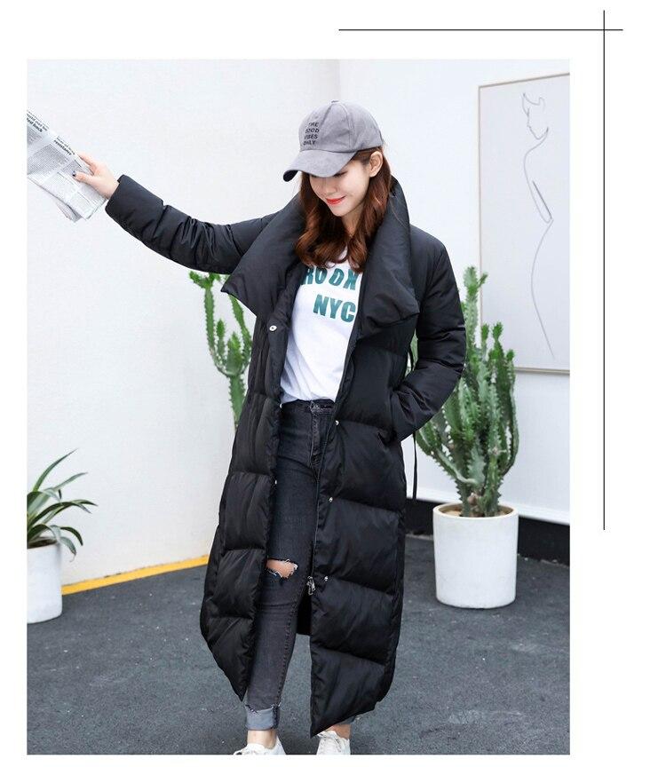 rouge Long Chaud 90 Pour De D'hiver Noir Blanc Rouge Vestes Canard Manteau Femmes Duvet Taille Plus Noir Grande xqTptwF