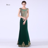 Black Crystal Beaded Long Lace Mermaid Prom Dresses 2015 Party Evening Gown Elegant Robe De Soiree