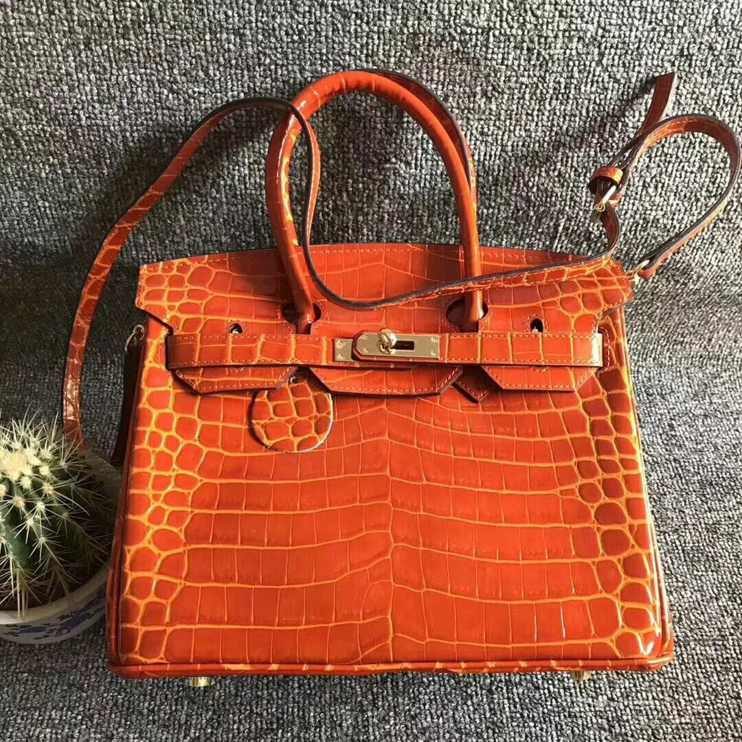 757cca2f4 Comprar De Lujo bolsos de las mujeres bolsos de diseño de patrón de cocodrilo  bolso de cuero genuino marca famosa bolsa de mujeres platino bolso de  hombro ...