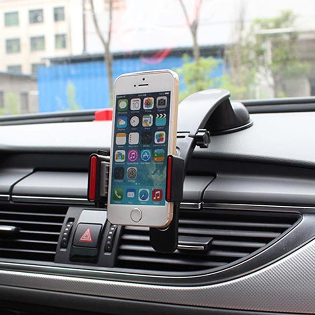 Car Phone Holder GPS Auto Dashboard Windshield Mobile Cell