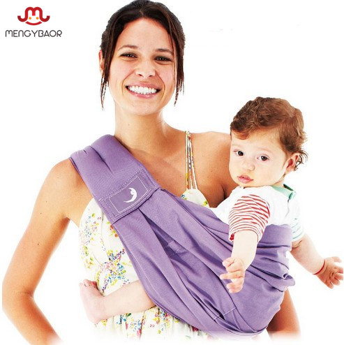 So Soft!! 2016 Brand High Quality Newborn Breathable 100% Cotton Baby Girls Slings Boys Carrier Backpack Wrap mochila feminina