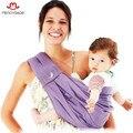 Tan Suave! 2016 Marca de Alta Calidad Recién Nacido Respirable 100% Del Bebé Del Algodón Niñas Niños Carrier Eslingas Mochila Wrap mochila feminina