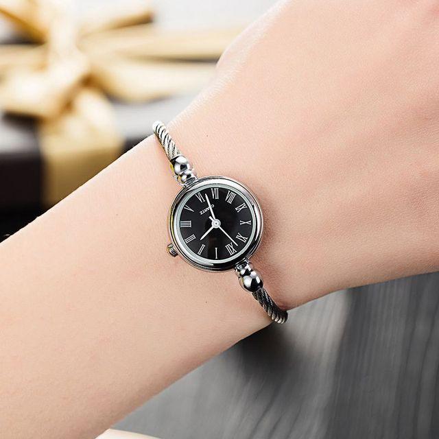 54de68ec9 New women's fashion bracelet watches minimalist stylish bangle strap women  quartz watch 2018 simple silver female clock Relogio