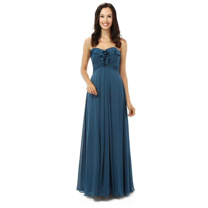 Modelos de vestidos formales largos