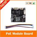 Placa do Módulo de fonte de Alimentação de Segurança Cctv Câmera Ip Poe Power Over Ethernet 12v1a Saída Ieee802.3af Freeshipping Venda Quente
