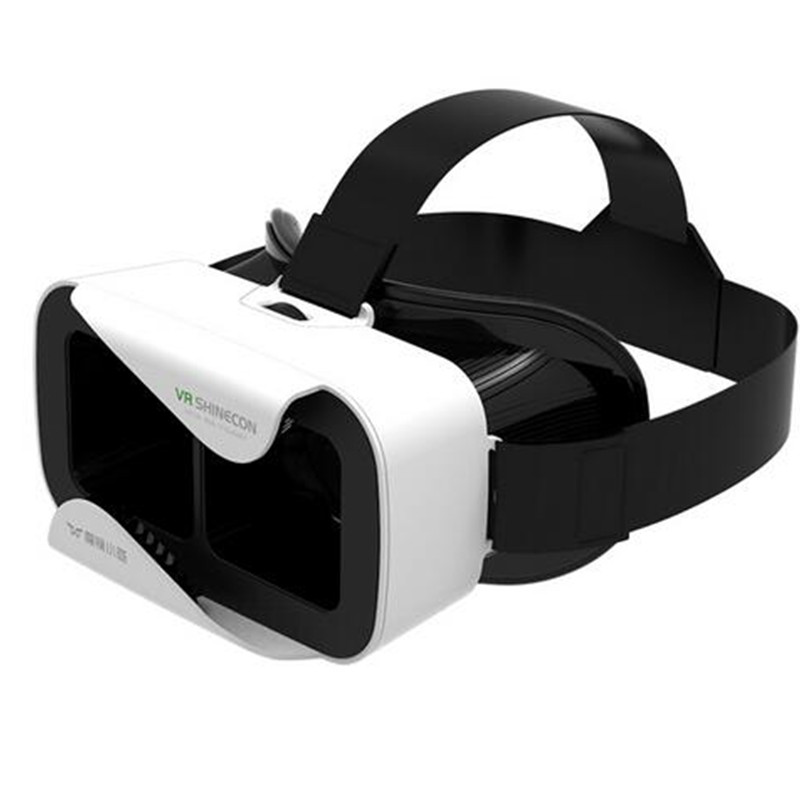 Nueva vr shinecon iii 3.0 mini gafas de realidad virtual 3d google vr caja video
