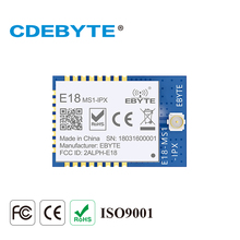 2Pcs/Lot CDEBYTE E18-MS1-IPX SPI SMD 2.4GHz CC2530 Wireless Zigbee Smart Home Automation Module 2pcs lot cdebyte e18 ms1 ipx spi smd 2 4ghz cc2530 wireless zigbee smart home automation module