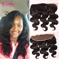 7A Unprocessed Brazilian Virgin Hair Body Wave Lace Frontal Closure 13x4 Body Wave From Ear To Ear Lace Frontals With Baby Hair