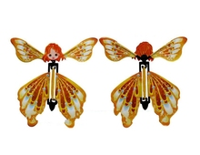 iWish 14x14cm Magic Flitting Butterfly With Wings Little Flying Fairy Toy Amazing Wedding Gift Magical Tricks Toys For Children