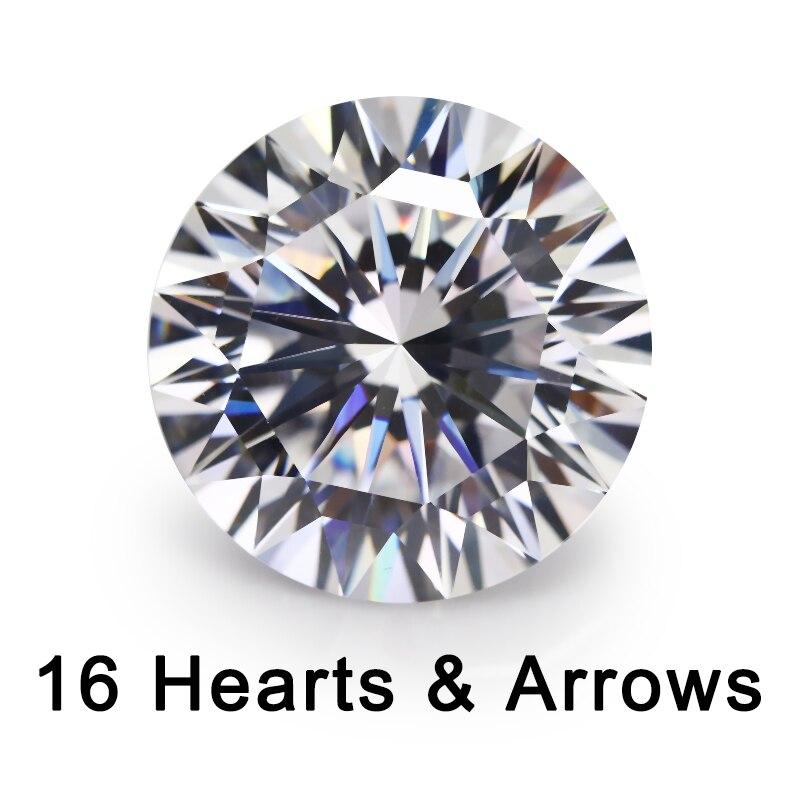 16 corações e 16 seta corte 4 10 10mm solto cz 5a qualidade branco zircônia cúbico cristais contas pedra preciosa sintética