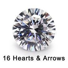 16 сердца и стрел вырезанные 4 ~ 10 мм свободные cz качество