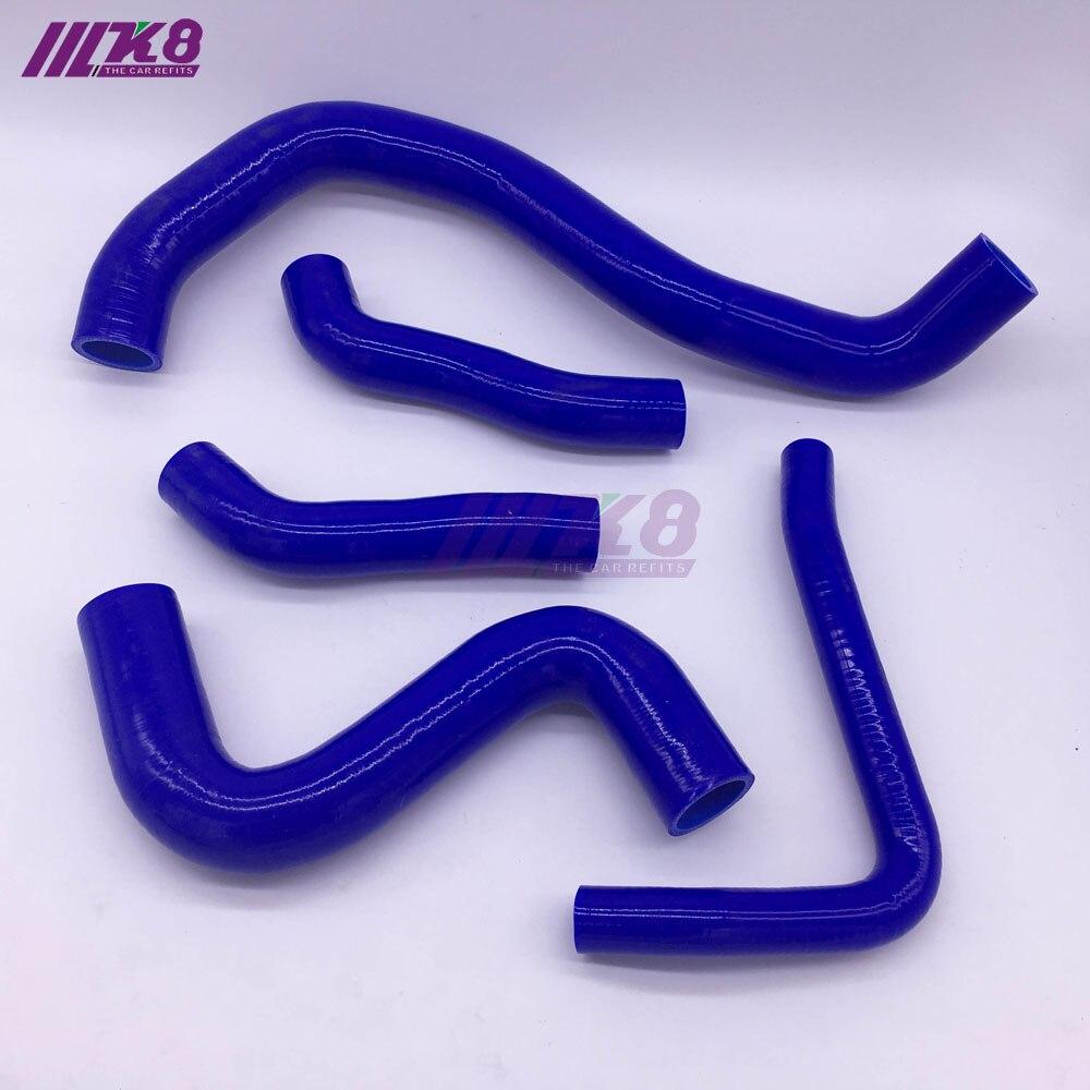 Silicone Radiator Hose Kit For NISSAN SKYLINE GTR R35 VR38DETT GT R 08 15 (5PCS) red/blue/black