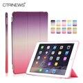 CTRINEWS Смарт Кожаный Чехол Для Apple iPad Air 2 Case Ultra Slim PU Case for iPad 6 Air 2 Магнитное Уэйк/Сна Откидная Крышка Подставка