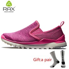 RAX Women's Walking Shoes Spring Summer Outdoor Sports Sneakers Breathable Lightweight Quick Jogging Femal Gym Shoes With gift