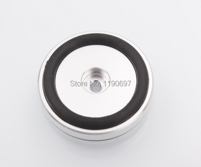 Rubber Ring Shock Absorber Top Aluminum Machine Foot Amplifier Feet Speaker Turntable Fe ...