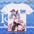 IS Infinite Stratos T Shirt Cosplay Costumes Men's Japanese Famous Anime T-shirt Unique Gift Camisetas Masculina