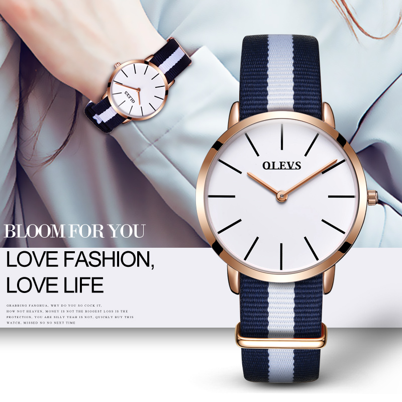 OLEVS Brand Women's Watch Sports Quartz Movement Watches For Girl Swim Climbing Fashion Outdoor Casual Ladies Wristwatches