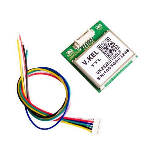 10 pcs VK2828U7G5LF GPS Module with Antenna TTL 1 10Hz with FLASH Flight Control Model Aircraft