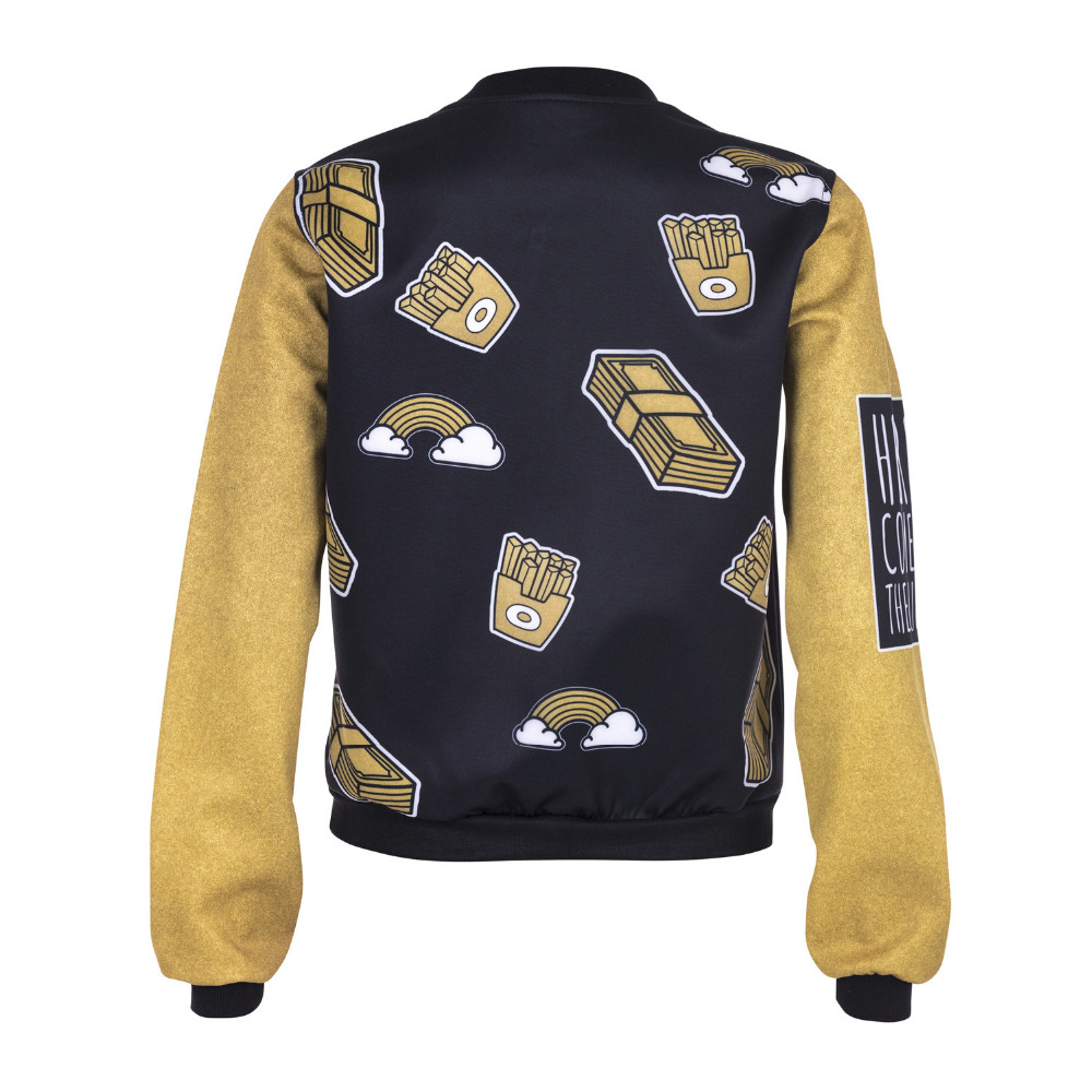 Jacket Gold Greams Printing  3