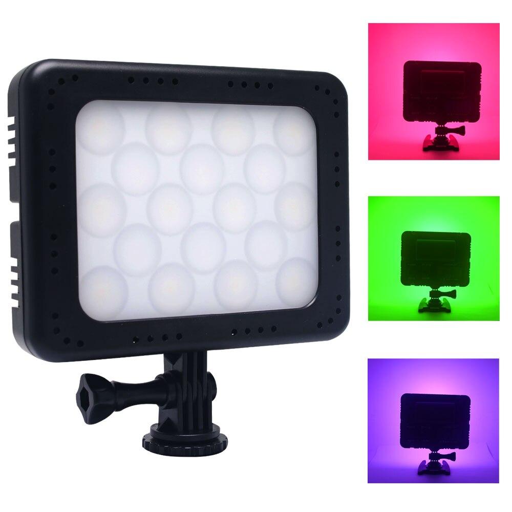 Mcoplus barevné video světlo bílá + RGB 1500LM 5700K Ra96 fotografické světlo 300 různých barev Super Slim LED světelný panel