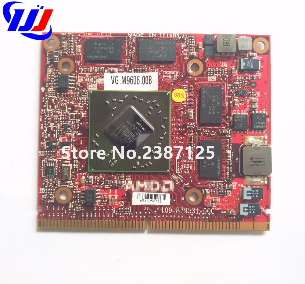 Nouveau pour Un c e r Aspire Z5600 Z5610 Tout-en-Un PC Un M D Un T je Mobility Radeon HD4670 GDDR3 1 gb MXM-A Graphique Carte Vidéo