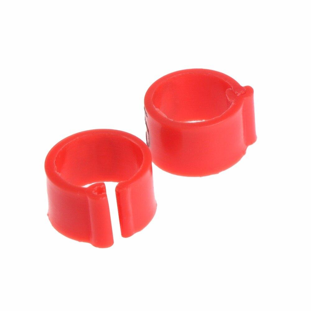 100 шт./пакет 8 мм определить кольцо Голубиной Для дрессировки ноги номер группы птиц стопы Кольца Товары для птиц 6 цветов C42