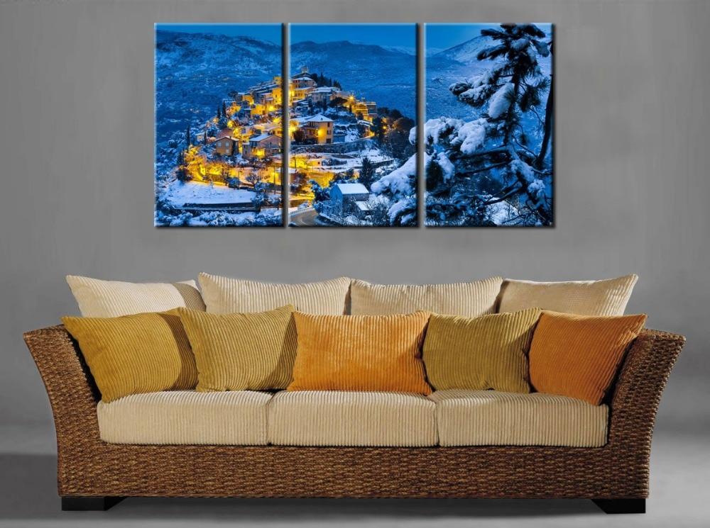 original home decor hd print landscape art painting on