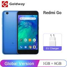 Küresel Sürüm Xiaomi Redmi GITMEK Smartphone 1 GB RAM 8 GB ROM Snapdragon 425 Dört Çekirdekli 3000 mAh Pil 5.0