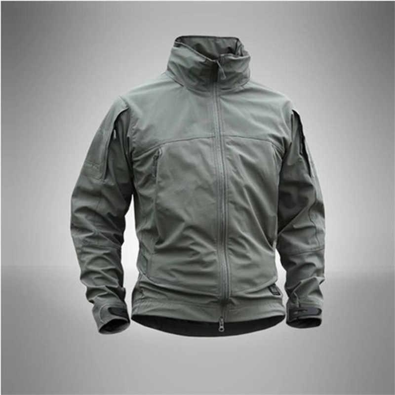 男性コート戦術ジャケット男性ジャケット戦術生き抜く通気性軽量ウインドブレーカージャケットドロップシッピング軍事行動ジャケット