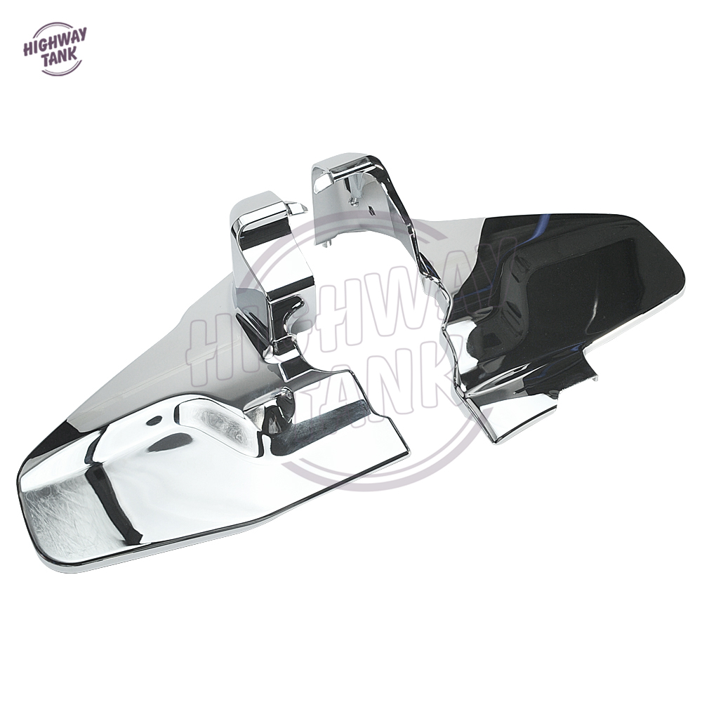 1 Pair Chrome Motorcycle Engine Frame Cover Motor Engine Side Protection case for Honda Goldwing GL1800