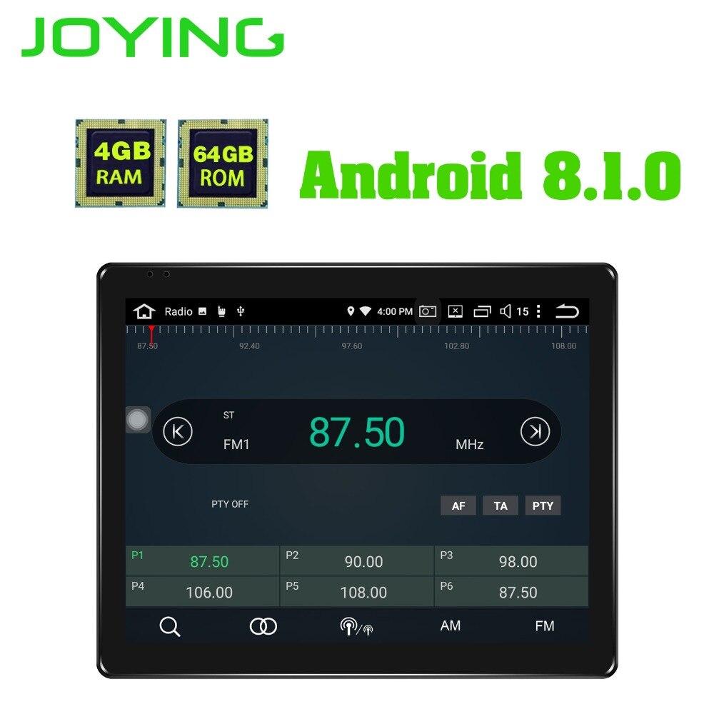 Dernière 2 Din Voiture radio stéréo navigation gps 9.7 Android 8.1 Universel Tête Unité DVD lecteur multimédia enregistreur à bande