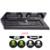 Nueva Vertical Soporte de pie Ventilador de Refrigeración con Doble Controlador de Carga estación + 4x Pulgar Stick Tapas para PS4 o PS4 Slim consola