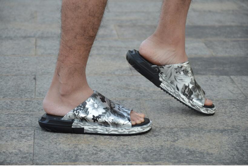 Aleta 1 As Chinelo Falhanço Falt Casuais 2 Couro Ar De Praia Comforatble as Livre Do Sapatos Pic Dos Crocodilo Ao Sandália Homens Sandálias zFRUCC