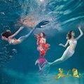 Mujeres Sirena Colas con Mono Aleta de Natación Para Adultos Mermaid Tail Nadar Bikini Set Beach Ropa de Navidad Regalo para La Madre