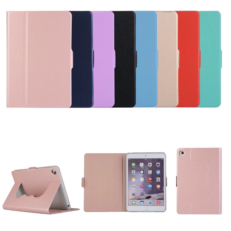 8 color business thin leather case For ipad mini 4 mini 5 smart wake-up sleep Flip Stands flat cover For ipad mini 1/2/3/4/5