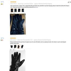 Image 4 - JOOLSCANA top1gloves גברים אמיתי עור חורף חושי טקטי כפפות אופנה יד מגע מסך כונן סתיו באיכות טובה
