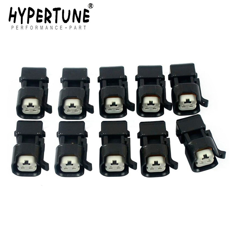 8X PACK EV1 Jetronic Minitimer Female to EV6 USCAR Male Fuel Injector Adapter