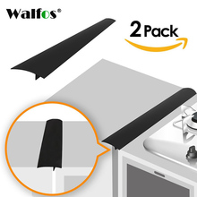 цена WALFOS 2 Pcs / lot Silicone Stove Counter Cover Lacuna Flexible Silicone Gap Sealing Covers The Opening онлайн в 2017 году