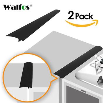WALFOS 2 sztuk partia kuchenka silikonowa licznik pokrywa Lacuna elastyczne silikonowe uszczelnienie szczeliny obejmuje otwór tanie i dobre opinie CN (pochodzenie) Z gumy silikonowej Zaopatrzony Ekologiczne Ce ue Lfgb WCT00-B0483 Zestawy narzędzi do gotowania