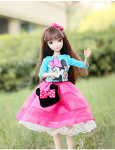 D0725 In box Best children girl gift 30cm Kurhn Chinese Doll Chinese myth Gift Traditional toy girl dress changed time 6133-1