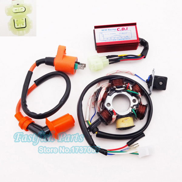 Magnificent Viper Remote Start Wiring Thick Three Way Switch Guitar Shaped Coil Tap Wiring Hh 5 Way Switch Wiring Old Hot Rod Wiring Diagram Download BrightIbanez Srx3exqm1 Stator Magneto Racing Ignition Coil AC CDI Box For GY6 50cc Moped ..